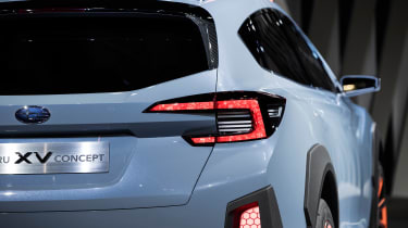 Subaru XV concept - rear detail