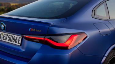 BMW i4 - rear detail