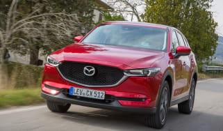 Mazda CX-5 2017 - manual Tuscany front tracking