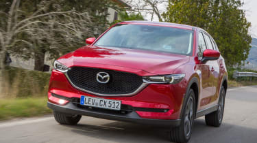 Mazda CX-5 2017 - manual Tuscany front tracking
