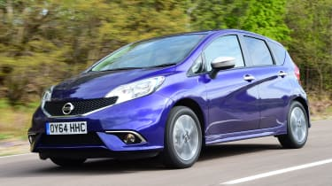 Nissan Note - front tracking