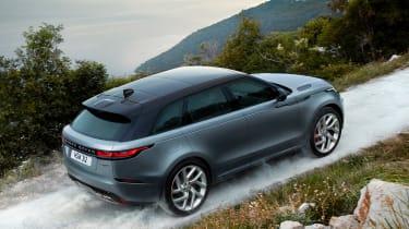 Range Rover Velar SVAutobiography - rear above action