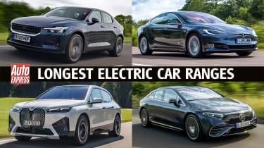 Longest range electric cars - header
