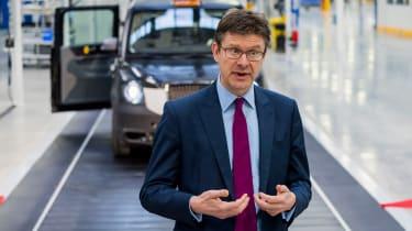 London Taxi Company - UK Business Secretary Greg Clark
