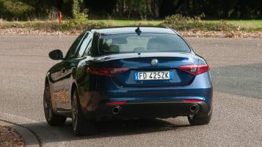 Alfa Romeo Giulia - rear cornering