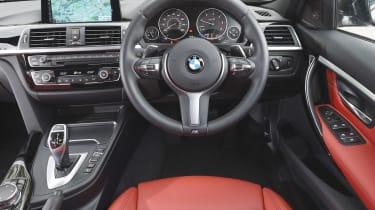 BMW iDRIVE - 3 Series interior