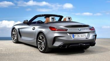 BMW Z4 - rear static