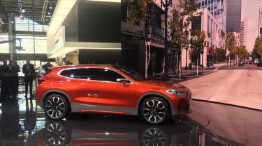 New BMW X2 concept at Paris 2016 side
