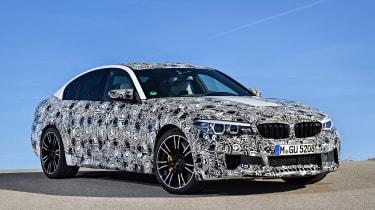 BMW M5 prototype - front static