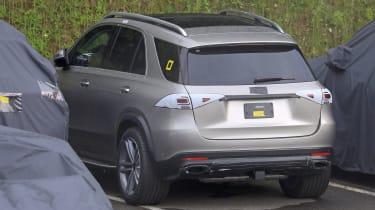 Mercedes GLE spied rear