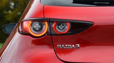 Mazda 3 - rear light