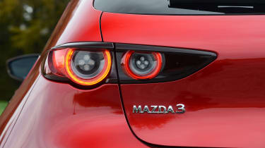 Mazda 3 - rear light
