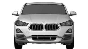 BMW X2 patent leak front