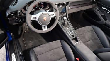 Porsche 911 Targa GTS interior