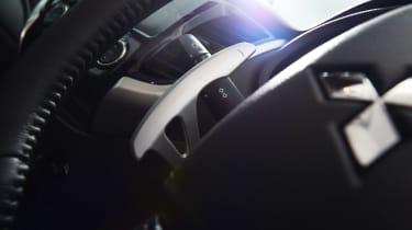 Mitsubishi L200 - steering wheel detail