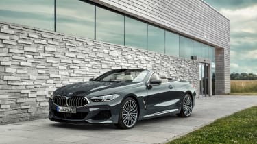 BMW 8 Series Convertible - front static