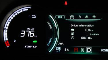 Kia e-Niro - dials