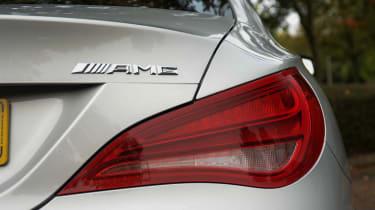 Mercedes CLA 45 AMG 2013 badge