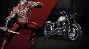 Harley Davidson Marvel Super Hero Customs - Drax Unrelenting