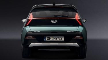 Hyundai Bayon - full rear