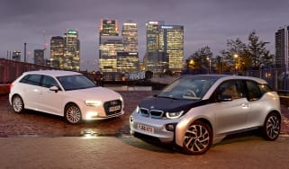 BMW i3 vs Audi A3 e-tron - header
