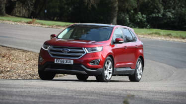 Ford Edge second report - front action
