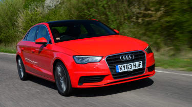 Audi A3 Saloon front action