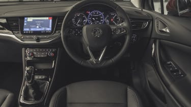 Vauxhall Astra 2019 facelift - interior