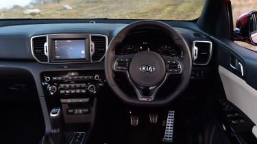 Kia Sportage GT Line 2016 - dashboard