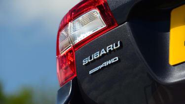 Subaru Outback - taillight