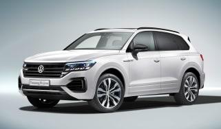 Volkswagen Touareg - front