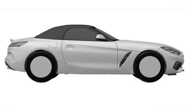 BMW Z4 sketch - side static