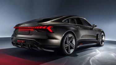 Audi e-tron GT concept - rear studio