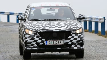 MG ZS - spy shot front tracking 2
