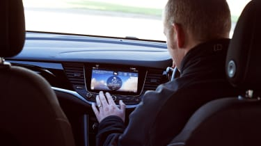 Renault Megane vs Vauxhall Astra vs Peugeot 308 - infotainment