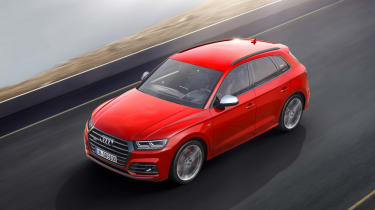 Audi SQ5 2017 - overhead tracking