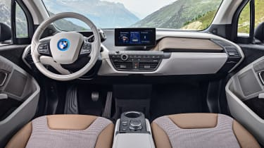 BMW i3 facelift - interior
