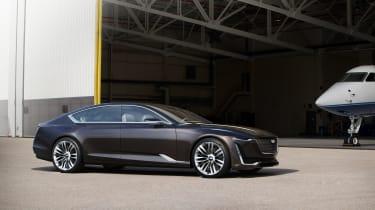 Cadillac Escala concept - side profile