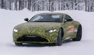Aston Martin Vantage prototype - front tracking