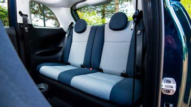 Fiat 500 - rear seats
