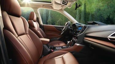 Subaru Forester 2018 cabin