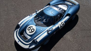 Ecurie Ecosse LM69 - front above