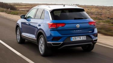 Volkswagen T-Roc - rear action