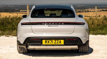 Porsche Taycan 4S Cross Turismo - rear static