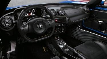 Alfa 4C interior