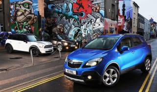 MINI Countryman vs Vauxhall Mokka and Nissan Juke
