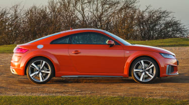 Audi TT Coupe - side static