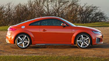 Audi TT Coupe - side static