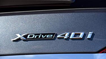 BMW X7 - badge