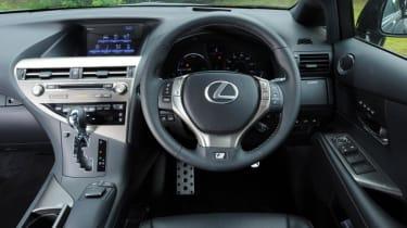 Used Lexus RX - dash